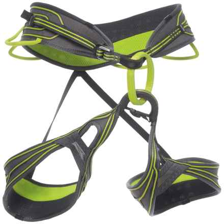 Edelrid Cyrus Harness (For Men and Women) in Oasis - Closeouts