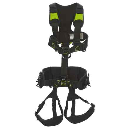 Edelrid Flex Tower Full-Body Harness (For Men and Women) in Night/Oasis - Closeouts