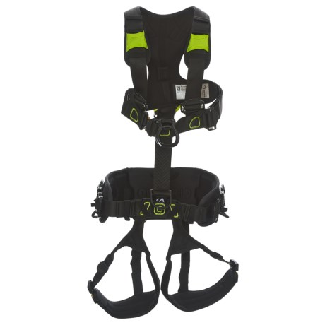 Edelrid Flex Tower Full-Body Harness (For Men and Women) in Night/Oasis
