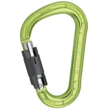 Edelrid HMS Magnum Twist Locking Carabiner - Straight Gate in Oasis - Closeouts