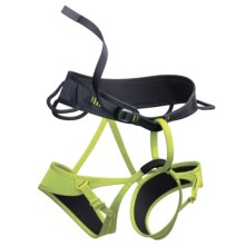 Edelrid Leaf Climbing Harness (For Men and Women) in Slate/Oasis - Closeouts