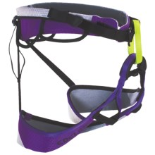 Edelrid Lilou Climbing Harness (For Women) in Pebbles/Violet - Closeouts
