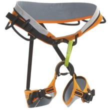 Edelrid Logan Climbing Harness in Pebbles/Sahara - Closeouts