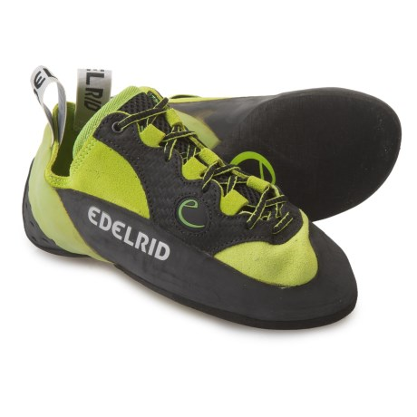 Edelrid Made in Italy Typhoon Lace Climbing Shoes (For Men and Women) in Oasis