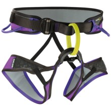 Edelrid Moe Climbing Harness in Slate/Violet - Closeouts