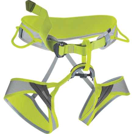 Edelrid Moe II Climbing Harness (For Men and Women) in Pebble/Oasis - Closeouts