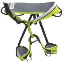 Edelrid Neo Climbing Harness in Pebbles/Oasis - Closeouts