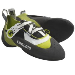 Edelrid Raven Climbing Shoes (For Men and Women) in Oasis