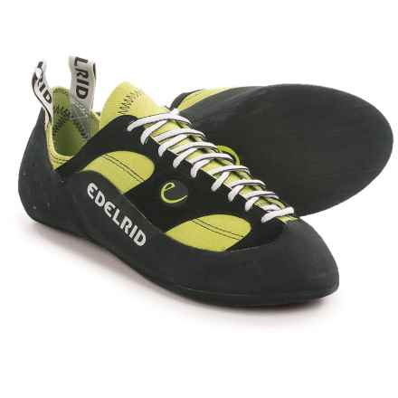Edelrid Reptile II Climbing Shoes (For Men and Women) in Oasis - Closeouts