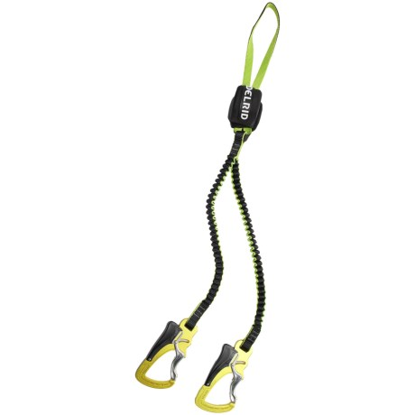 Edelrid SE Cable Lite 2.3 One Touch Via Ferrata Set in Night/Oasis