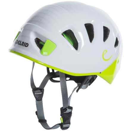 Edelrid Shield II Climbing Helmet (For Men) in Pebbles/Oasis - Closeouts