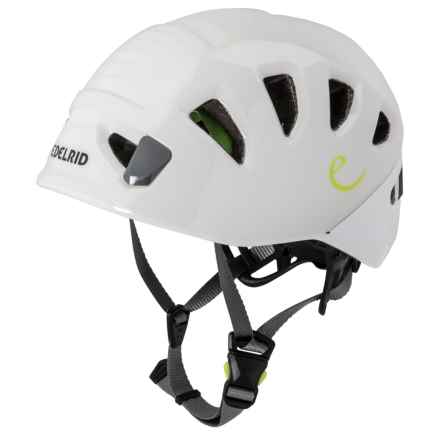 Edelrid Shield II Climbing Helmet (For Men) in Pebbles/Snow - Closeouts