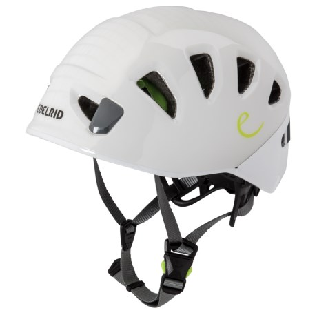 Edelrid Shield II Climbing Helmet (For Men) in Pebbles/Snow
