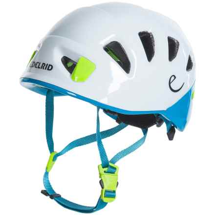 Edelrid Shield Lite Climbing Helmet in Snow/Icemint - Closeouts