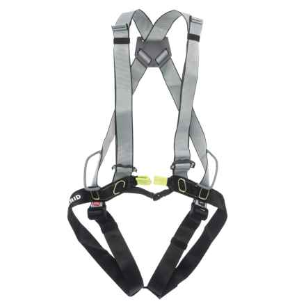 Edelrid Solid Full Body Harness (For Men and Women) in Night/Oasis - Closeouts