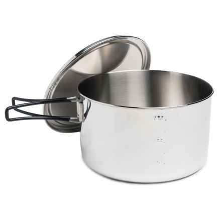 Edelrid Stainless Steel Ardor Big Pot - 3.8L in See Photo - Closeouts