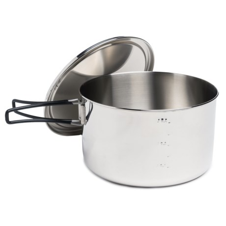 Edelrid Stainless Steel Ardor Big Pot - 3.8L in See Photo