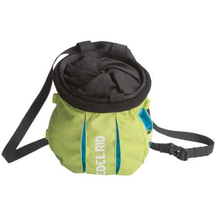 Edelrid Trifid Twist Chalk Bag in Oasis/Icement - Closeouts