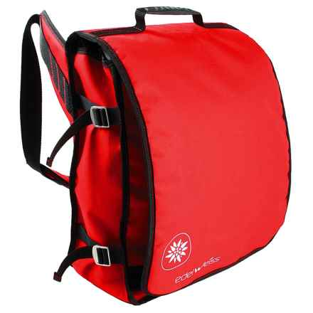 Edelweiss DJ Rope Bag in Red - Closeouts