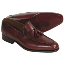Eduardo G. Dandy Tasseled Dress Shoes - Leather (For Men) in Pigment Burgundy - Closeouts