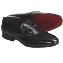 Eduardo G. Milano Loafer Shoes with Bit - French Calf Leather (For Men) in Black - Closeouts