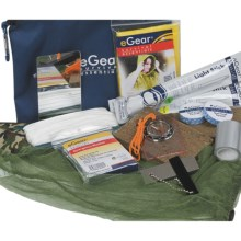 eGear Deluxe Survival Kit in See Photo - Closeouts