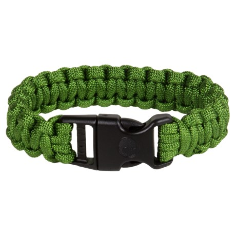 "eGear Paracord Survival Bracelet - 8"" in Forest"