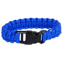 eGear Paracord Survival Bracelet - 8' in Royal Blue - Closeouts