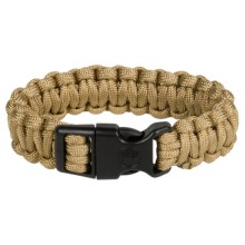 "eGear Paracord Survival Bracelet - 8"" in Tan - Closeouts"