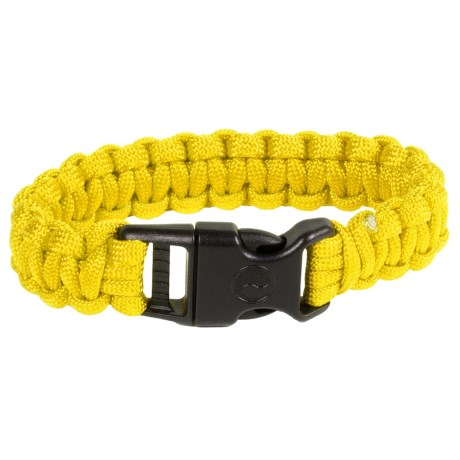 eGear Paracord Survival Bracelet - 8' in Yellow