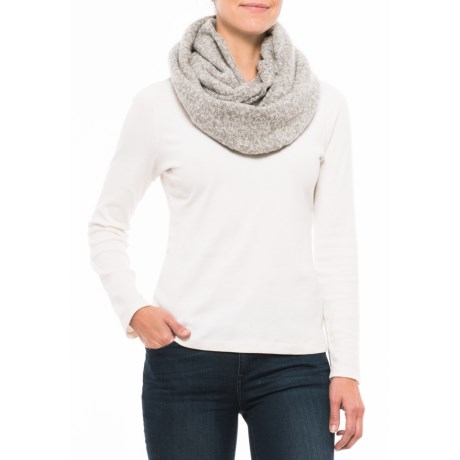 eira Infinity Scarf (For Women) in Concrete