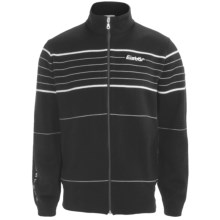Eisbar Merino Wool Jet Ski Sweater - Zip Front (For Men) in Black - Closeouts