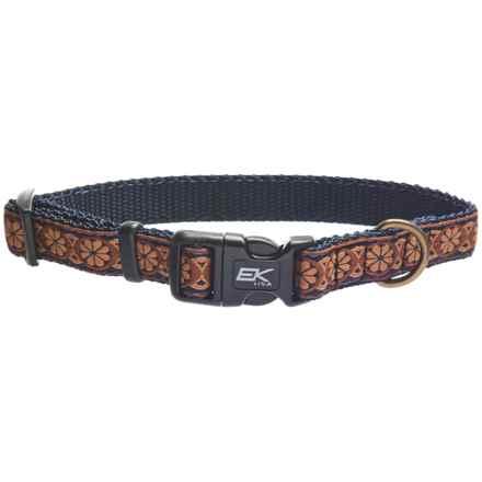 EK USA Lit'l Yapper Dog Collar in Brown - Closeouts