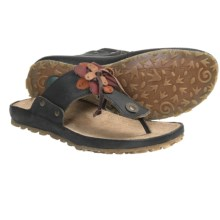El Naturalista Ikebana N118 Sandals - Leather (For Women) in Black - Closeouts