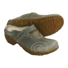El Naturalista N096 Leather Clogs (For Women) in Grey - Closeouts