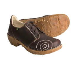 El Naturalista N104 Shoes - Leather, Lace-Ups (For Women) in Brown