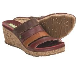 El Naturalista N402 Wedge Sandals (For Women) in Tibet Multi