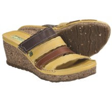 El Naturalista N402 Wedge Sandals (For Women) in Yellow Multi - Closeouts