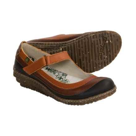 El Naturalista Recyclus Ella Shoes - Mary Janes (For Women) in Skimo/Cuero/Brown - Closeouts