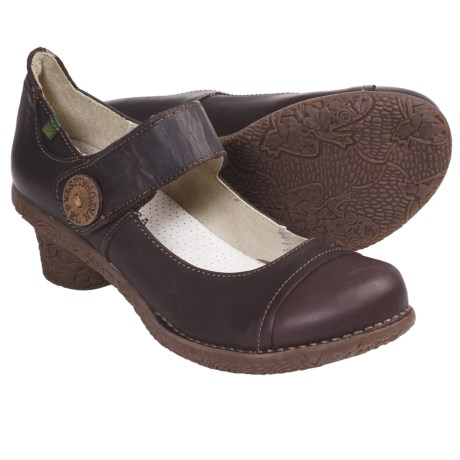 El Naturalista Tesela N740 Shoes - Mary Janes, Leather (For Women) in Brown