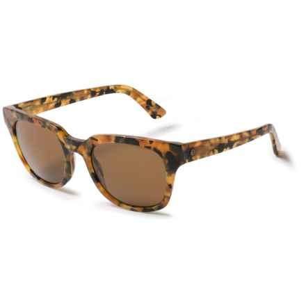 Electric 40Five Sunglasses in Granite Brown/Melanin Bronze - Overstock