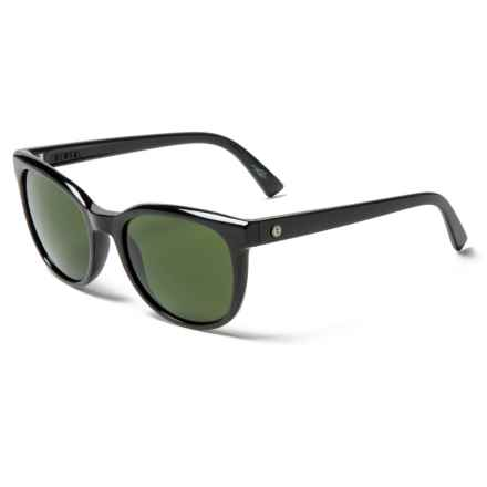Electric Bengal Ohm Lens Sunglasses (For Women) in Gloss Black/Ohm Grey