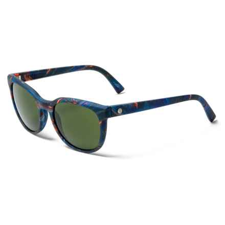 Electric Bengal Ohm Lens Sunglasses (For Women) in Midnight Oil/Ohm Grey