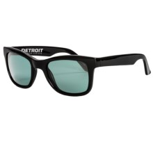 Electric Detroit Sunglasses in Gloss Black/Grey - Closeouts