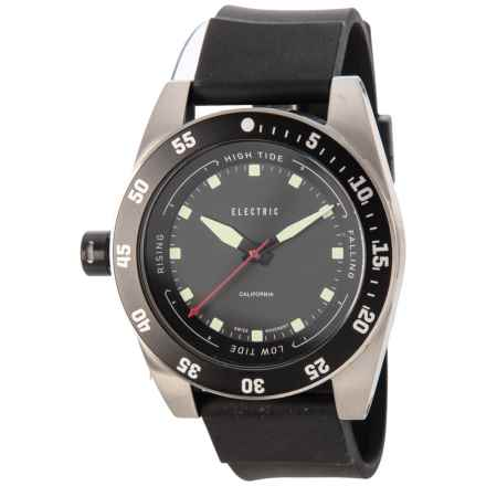 Electric DW03 PU Swiss Analog Watch - Polyurethane Strap (For Men and Women) in Black - Closeouts