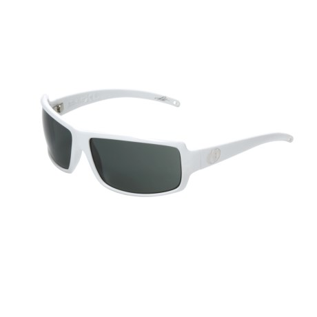 Electric EC/DC XL Sunglasses in Gloss White/Grey