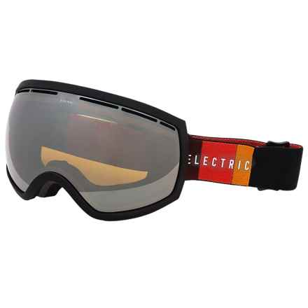 Electric EG2 Ski Goggles - Extra Lens in Orange Blast Black/Bronze Silver Chrome - Closeouts
