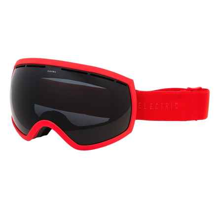 Electric EG2 Ski Goggles - Extra Lens in Solid Orange/Jet Black - Closeouts