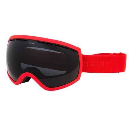 Electric EG2 Ski Goggles - Extra Lens in Solid Orange/Jet Black - Closeouts