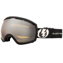 Electric EG2 Snowsport Goggle - Silver Chrome Lens in Gloss Black/Bronze/Silver Chrome - Closeouts
